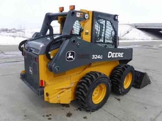 2019 Used DEERE 324G Skid Steer Fort Dodge