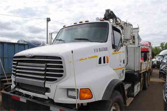 2009 Used STERLING LT9500 Grapple Truck Memphis