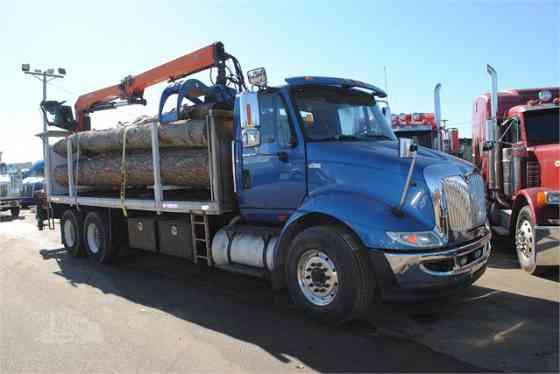 2013 Used INTERNATIONAL TRANSTAR 8600 Grapple Truck Memphis