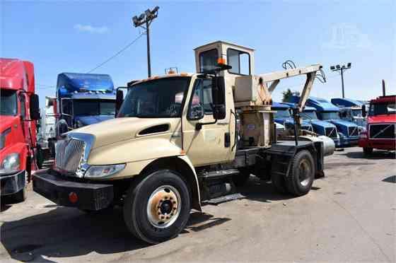 2008 Used INTERNATIONAL DURASTAR 4300 Grapple Truck Memphis