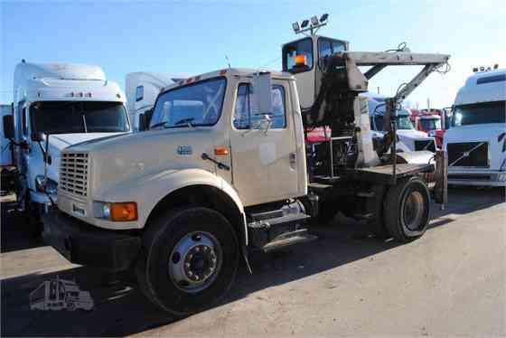 2002 Used INTERNATIONAL 4700 Grapple Truck Memphis