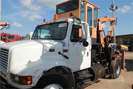 2001 Used INTERNATIONAL 4700 Grapple Truck Memphis