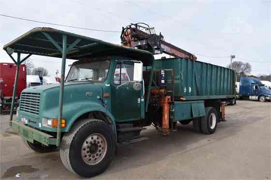 1999 Used INTERNATIONAL 4700 Grapple Truck Memphis