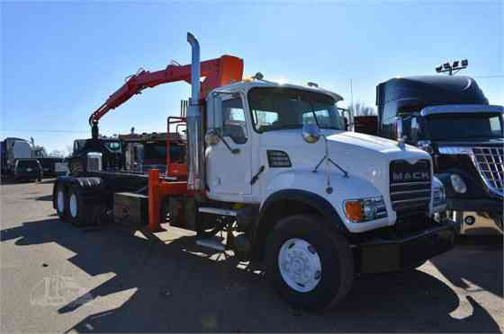 2007 Used MACK GRANITE CV713 Grapple Truck Memphis