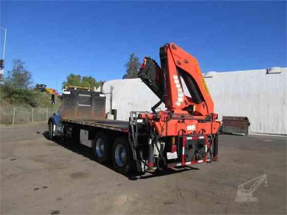 2014 PALFINGER PK32080C Crane MOUNTED ON 2014 KENWORTH T800 Houston
