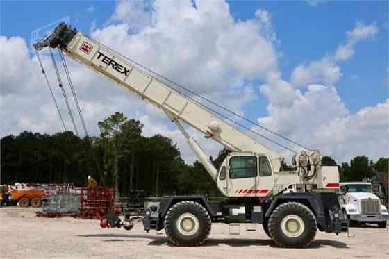 2001 Used TEREX RT555 Crane Houston