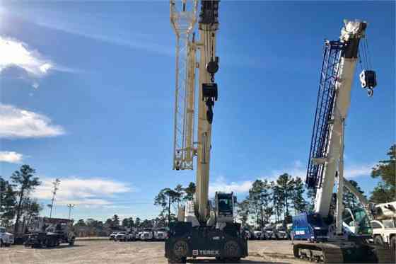 2017 Used TEREX QUADSTAR 1100 Crane Houston