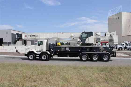 2016 Used TEREX CROSSOVER 8000 Crane MOUNTED ON 2016 KENWORTH T800 Houston