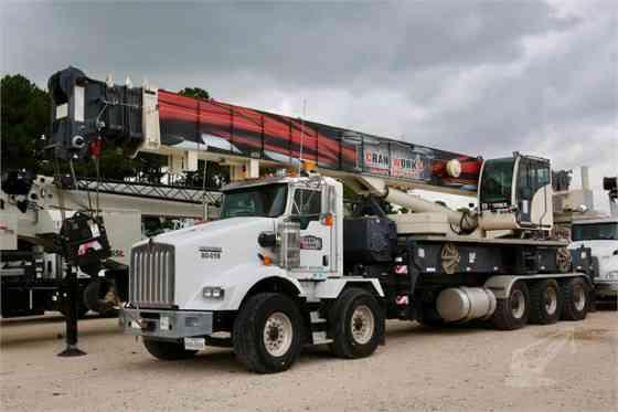 2018 Used TEREX CROSSOVER 8000 Crane MOUNTED ON 2018 KENWORTH T800 Houston