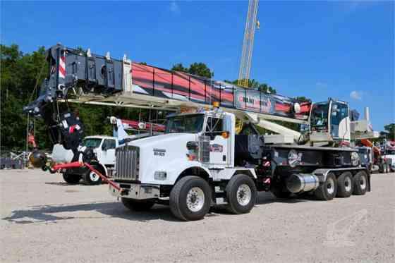 2018 Used TEREX CROSSOVER 8000 Crane MOUNTED ON 2019 KENWORTH T800 Houston