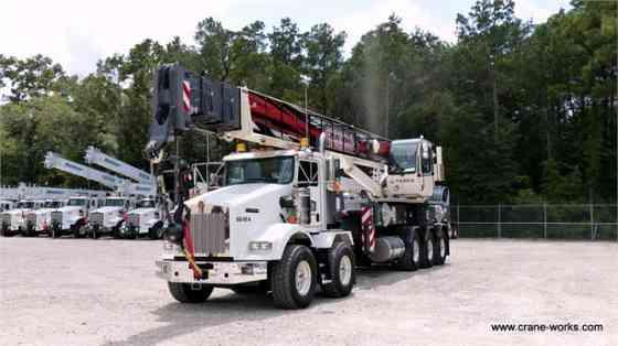 2015 Used TEREX CROSSOVER 6000 Crane MOUNTED ON 2015 KENWORTH T800 Houston