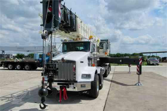 2018 Used TEREX CROSSOVER 6000 Crane MOUNTED ON 2018 KENWORTH T800 Houston