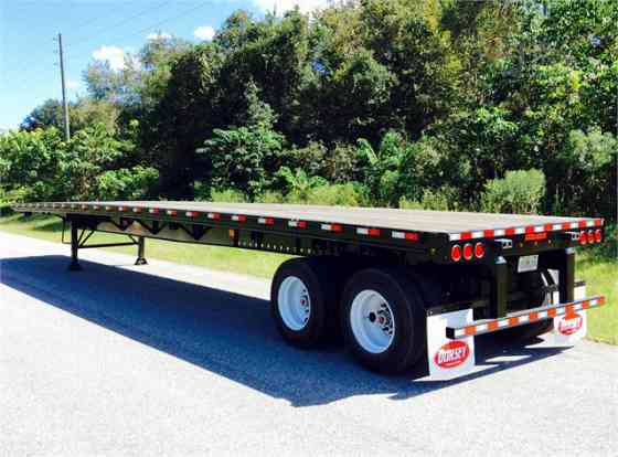 2021 New DORSEY FB-48 Flatbed Trailer Ocala