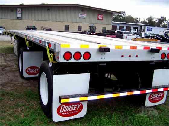 "2021 New DORSEY 48' X 102"" FC48 Flatbed Trailer Ocala"