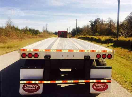 2021 New DORSEY FC48 Flatbed Trailer Ocala