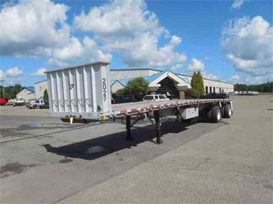 2000 Used REITNOUER Flatbed Trailer Alliance