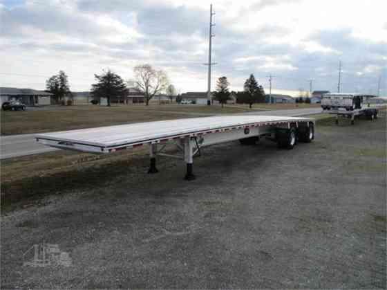 "2021 New MAC TRAILER MFG Flatbed Trailer 72K BEAM 110 GVWR 48'X102"" Fort Wayne"