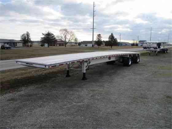 2022 New MAC TRAILER MFG FLATBED 72K BEAM 110 GVWR Fort Wayne
