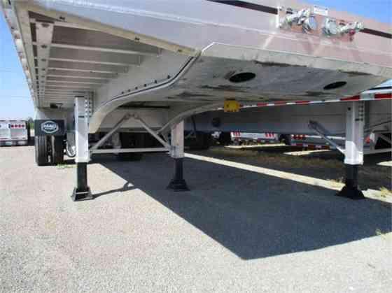 2022 MAC TRAILER MFG ALUM TRI-AXLE 80K BEAM Flatbed Trailer Fort Wayne