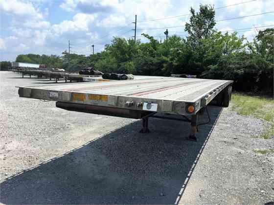 "2011 Used UTILITY 53' X 96"" Flatbed Trailer Birmingham, Alabama"