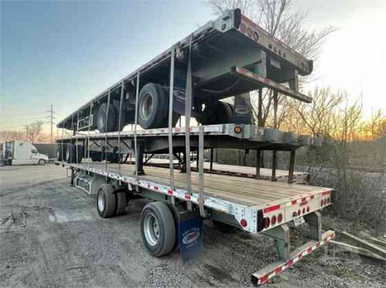 "2013 Used GREAT DANE 53' X 102"" Flatbed Trailer COMBO Birmingham, Alabama"