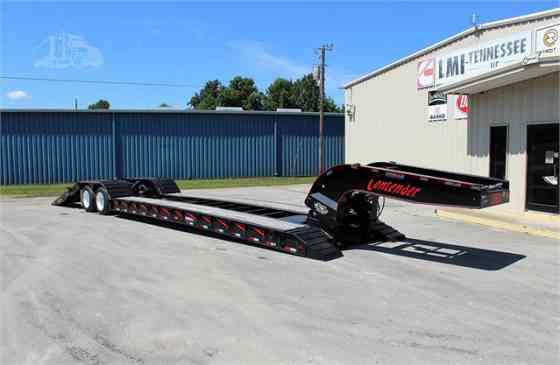 2022 New PITTS LB35-22DC Lowboy Trailer Waverly