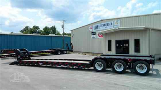 2021 New PITTS LB55-22DC Contender Lowboy Trailer Waverly