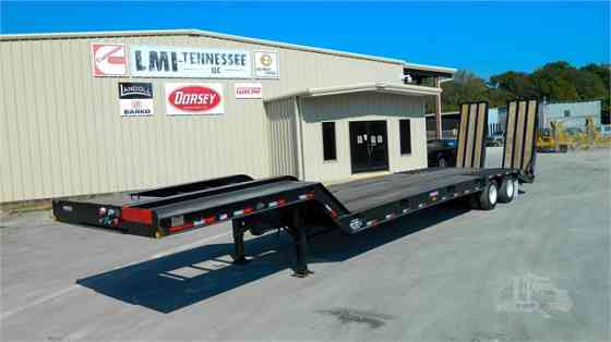 2021 New PITTS LB35-33-Hyd Ramps Lowboy Trailer Waverly
