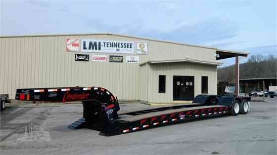 2021 New PITTS LB35-22DC Covered Lowboy Trailer Waverly