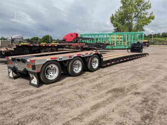 2021 New TRAIL KING TK 102 MG 28'10 WELL Lowboy Trailer Iowa City