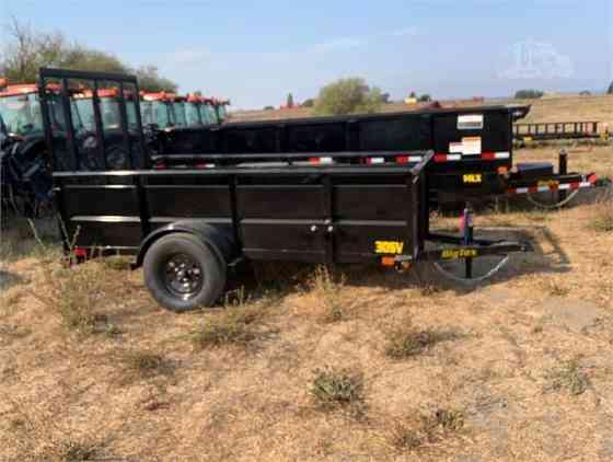 2020 Used BIG TEX 10 ft x 60 Utility Trailer Turlock