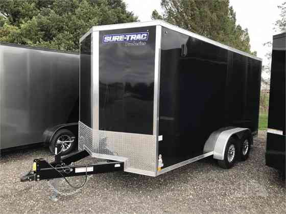 2021 New SURE-TRAC 7'X16' 10K Utility Trailer Rockford