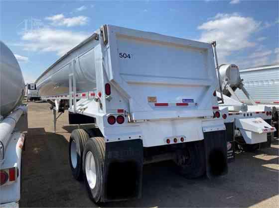 2013 Used TRAVIS 39' ALUMATECH Dump Trailer Denver