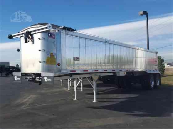 New 2022 TRAVIS VERTEX DOUBLE WALL ALUMINUM Dump Trailer Denver