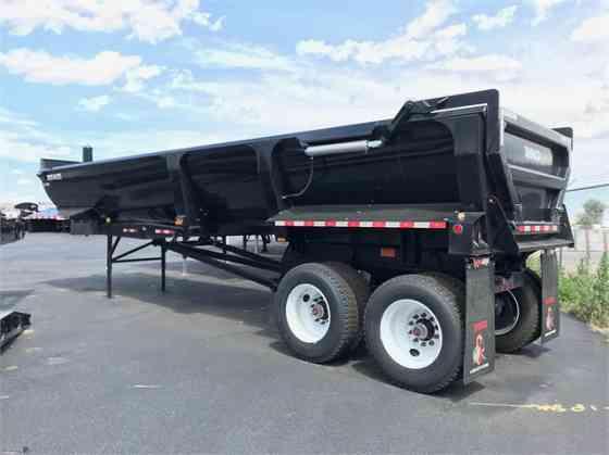 NEW 2020 RANCO QUARTERFRAME 1/2 ROUND Dump Trailer Denver