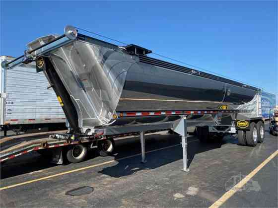NEW 2021 MAC TRAILER MFG MACSIMISER 35' 1/2 ROUND ALUM END DUMP Denver