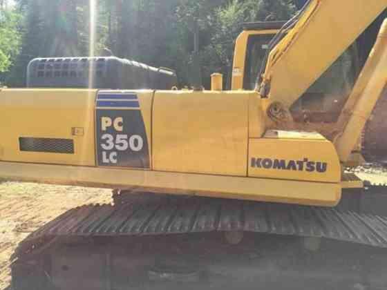 USED 2010 KOMATSU PC350 LC-8 EXCAVATOR Wayne, Michigan