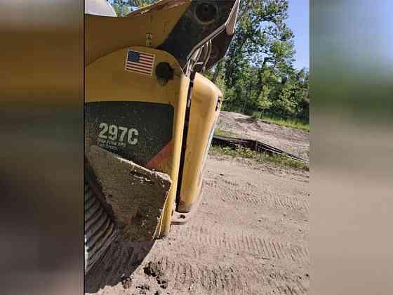USED 2012 CATERPILLAR 297C Skid-Steer Loader Wayne, Michigan