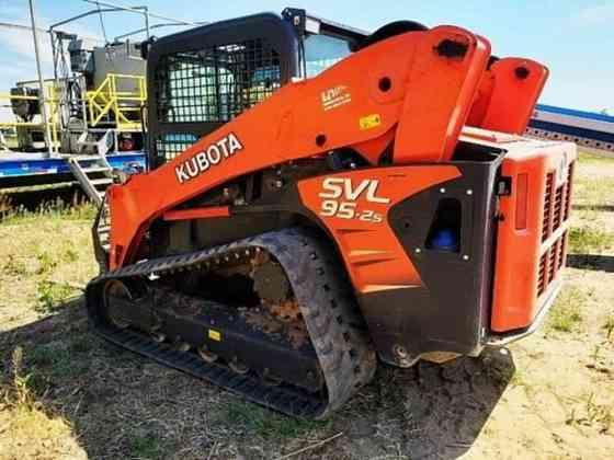 USED 2018 KUBOTA SVL95-2S Skid Steer Loader Wayne, Michigan