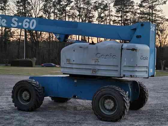 USED 2008 GENIE S60 Boom Lift Wayne, Michigan