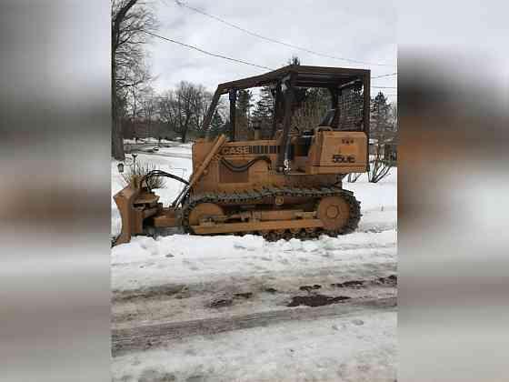 USED 1994 CASE 550E DOZER Wayne, Michigan