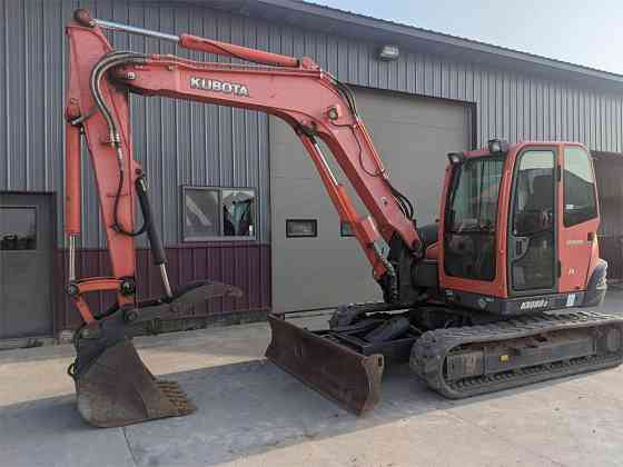 USED 2013 KUBOTA KX080-3 Excavator Caledonia