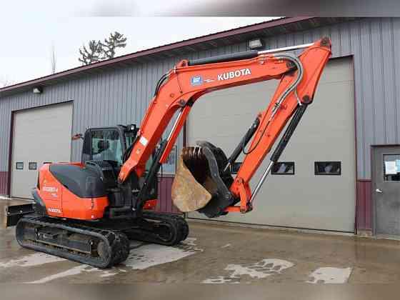 USED 2017 KUBOTA KX080-4 Excavator Caledonia