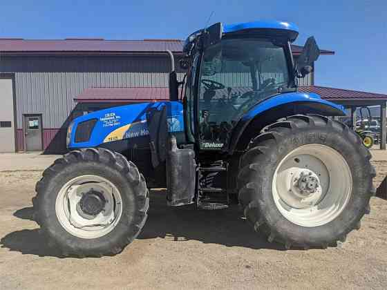 USED 2007 NEW HOLLAND TS125A TRACTOR Caledonia