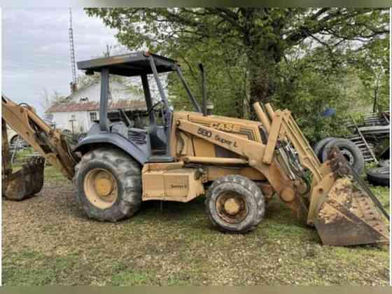 USED 1996 CASE 580SL BACKHOE Memphis