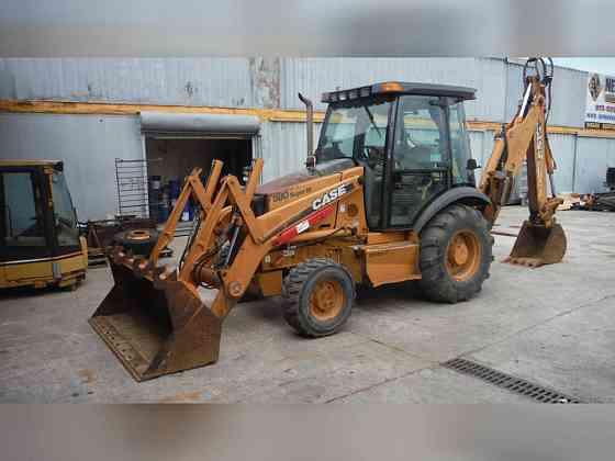 USED 2005 CASE 580SM-II BACKHOE Newark, New Jersey