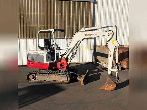 USED 2012 TAKEUCHI TB235 Excavator Glassboro