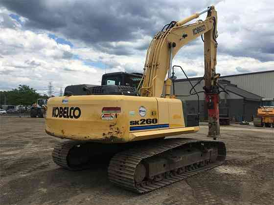 USED 2013 KOBELCO SK260 LC ACERA MARK 9 Excavator Syracuse, New York