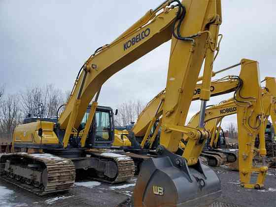 USED 2015 KOBELCO SK500 LC-9 Excavator Syracuse, New York