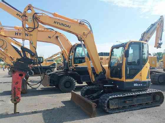 USED 2013 HYUNDAI ROBEX 80CR-9 Excavator Syracuse, New York